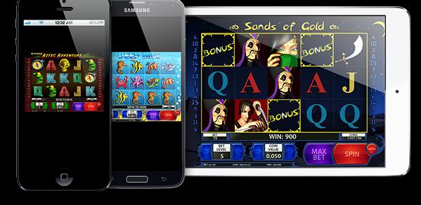 Spill på mobile enheter