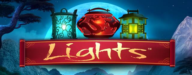 lights spilleautomat fra netent med østens mystikk