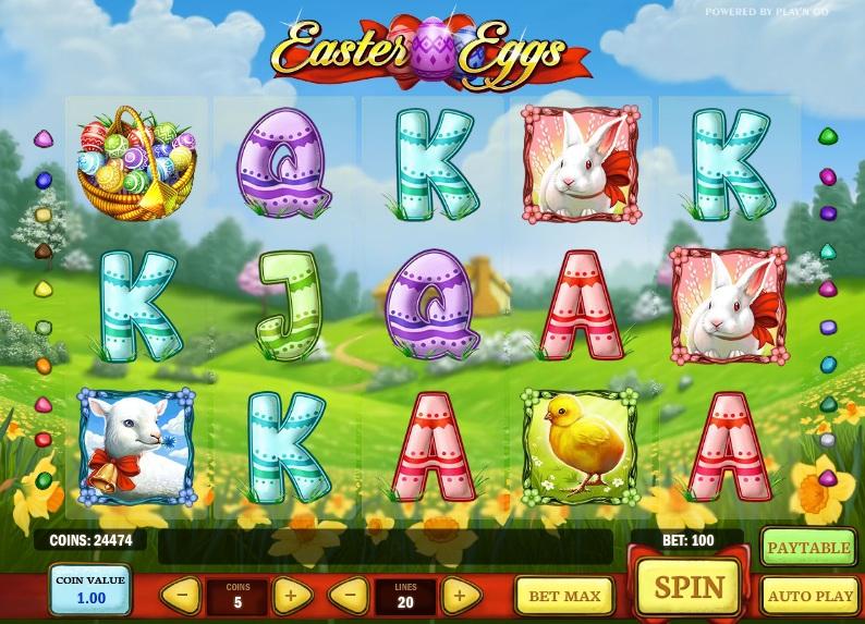 Easter Eggs - Mobil6000