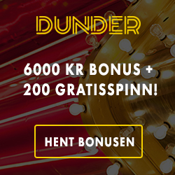 Dunder, månedens casino