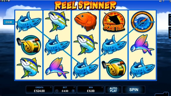 Reel Spinner spilleautomat
