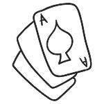 blackjack spill kort